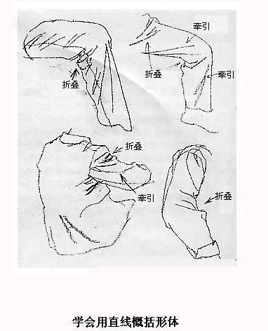 组合形体手绘练习